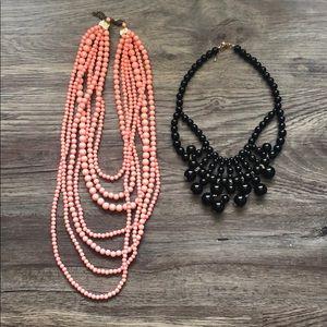 Jewelry - 💙 Beaded Statement Necklace Bundle💙